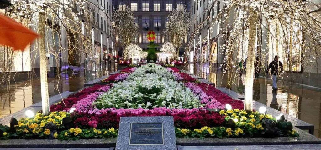 Rockefeller Center Channel Gardens Estrin Zirkman Sales