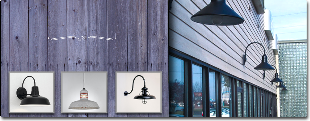 Discover our Commercial Shade Collection featuring a variety of American-made barn lighting and industrial lighting fixtures. This eclectic collection of ... & Large Selection of Barn Lights from Hi-Lite Manufacturing - Estrin ...
