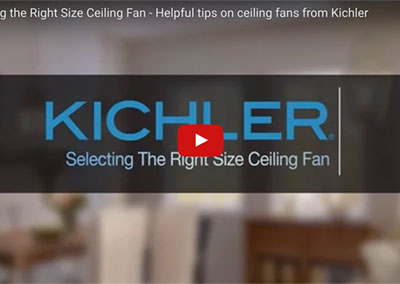 Choosing the Right Ceiling Fan for Your Room