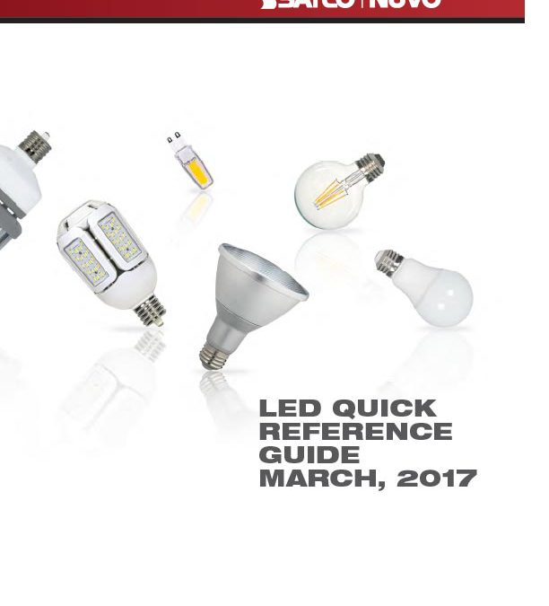 SATCO LED Quick Reference Guide