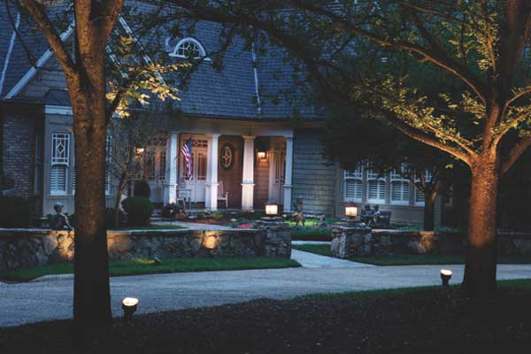 5 landscape lighting tips that will save you time money and landscape lighting aloadofball Choice Image