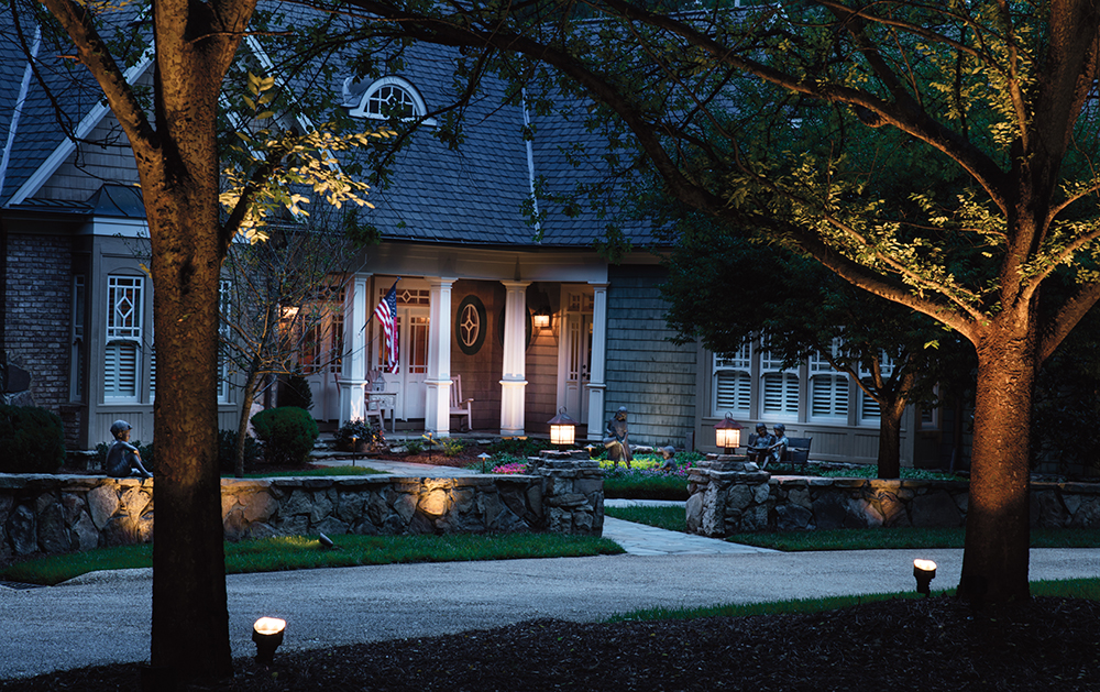 The first step you take when creating an outdoor lighting design is to determine how you will use your space do you entertain love a family cookout or