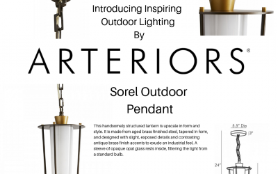 Arteriors Presents Luxury Outdoor Lighting