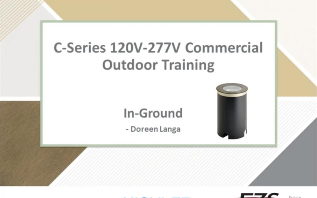 KICHLER C-Series In-Ground Training Video