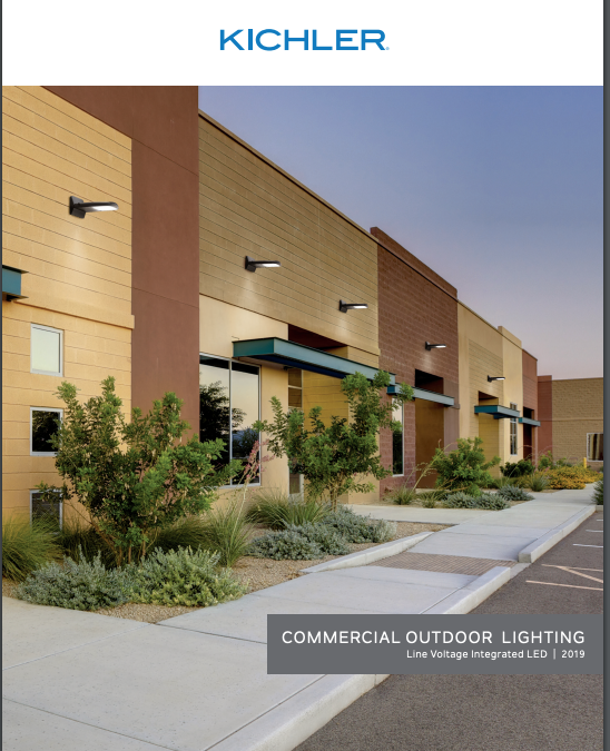 Commercial Outdoor LED Lighting by KICHLER