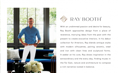 Meet Ray Booth | ARTERIORS The Metropolitan Design Phenom
