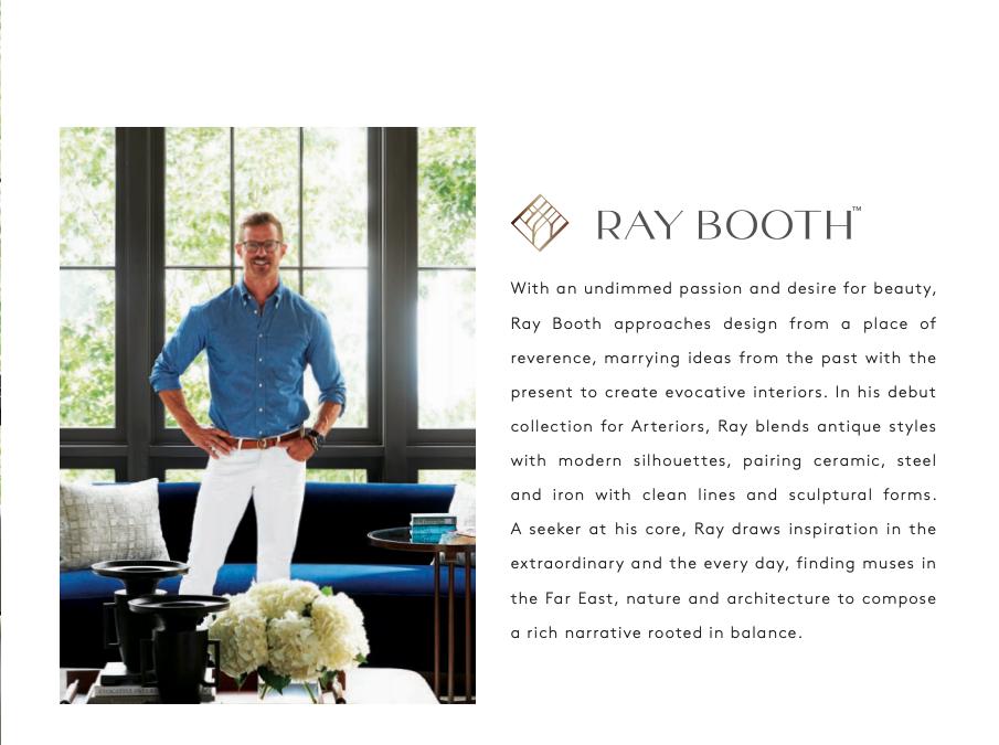 Meet Ray Booth | ARTERIORS The Metropolitan Design Phenom