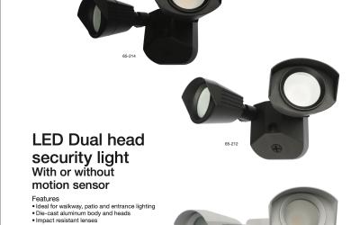 The Dual Head LED Security Light