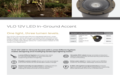 Introducing The KICHLER In-Ground VLO