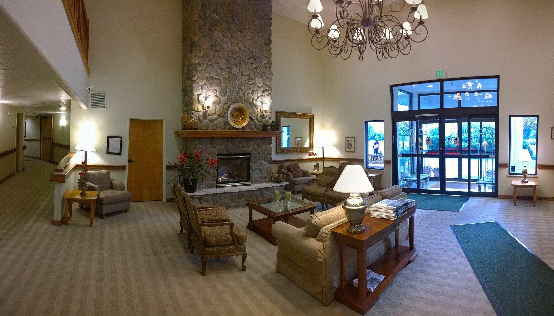new york apartment lobby