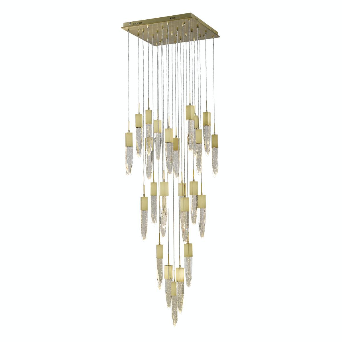 Estrin Zirkman Hanging pendant chandelier