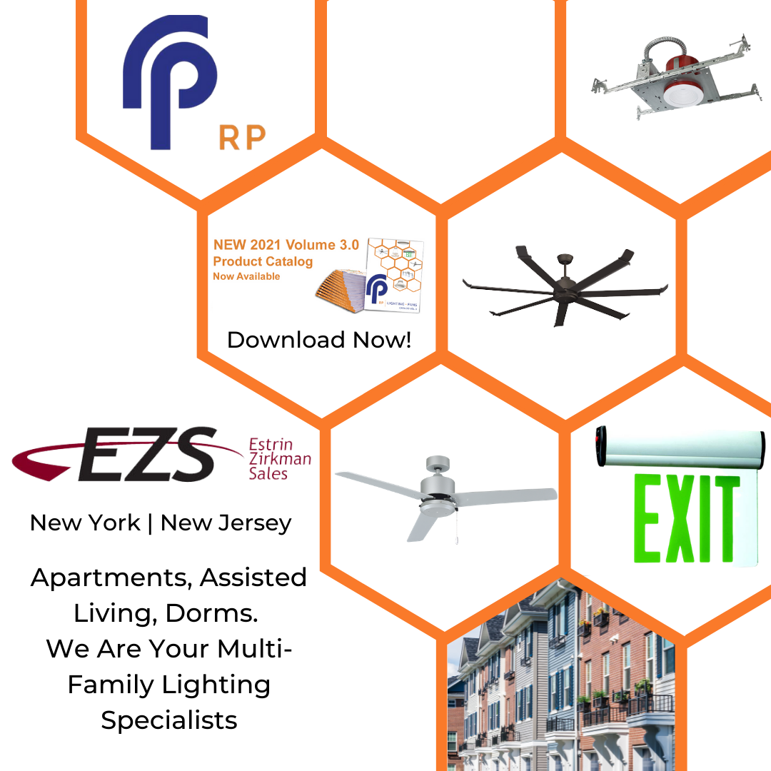 RP Lighting New York New Jersey Estrin Zirkman