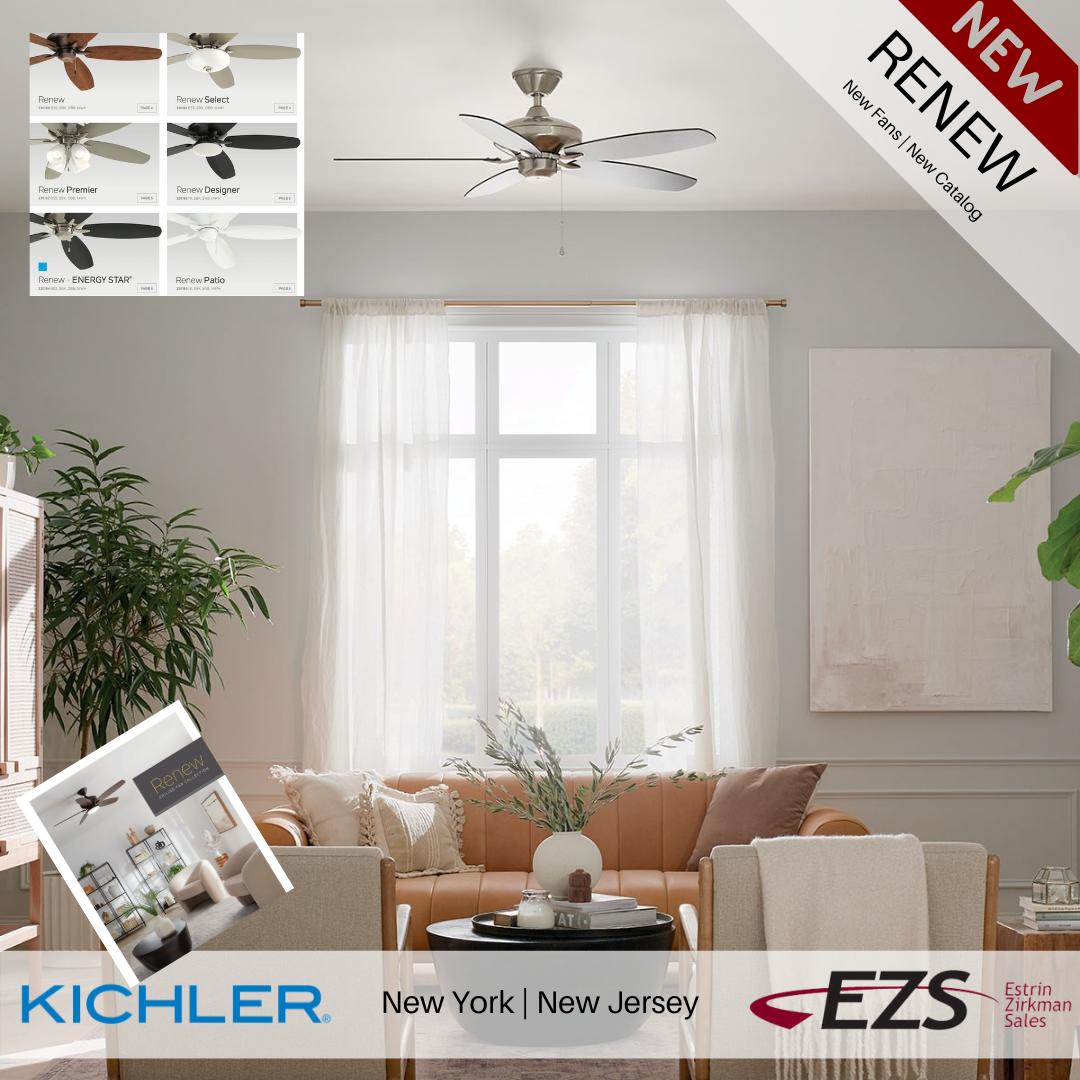 EZS_Kichler_ RENEW_fans New York new Jersey