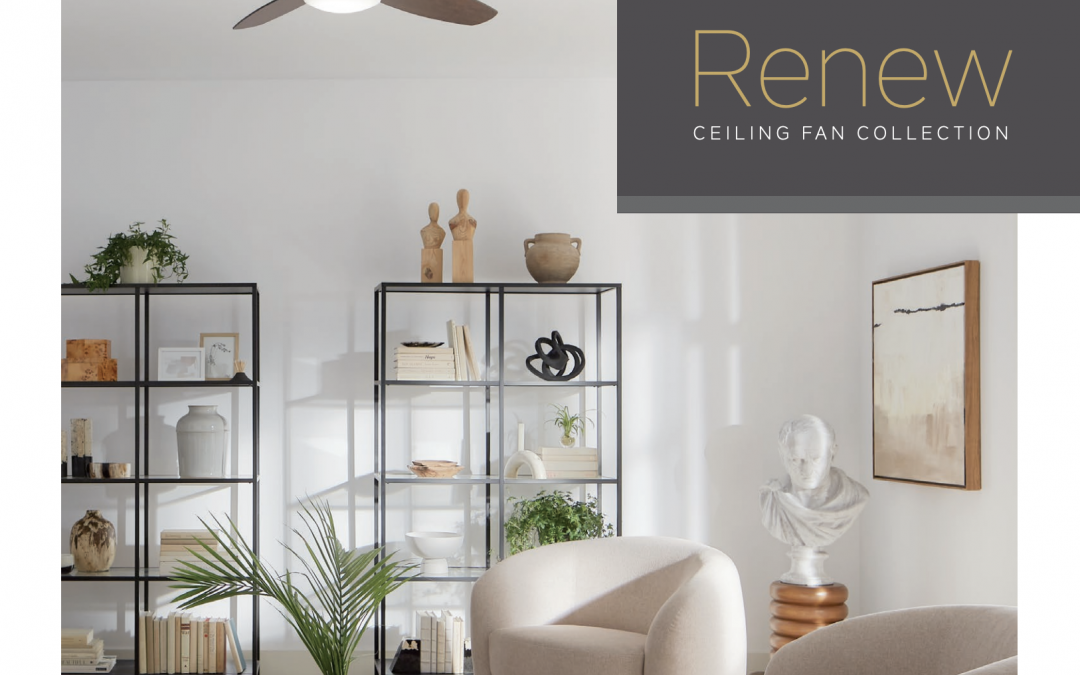 The New RENEW Fan Collection From KICHLER